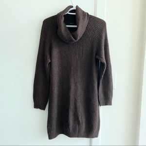 Talula Brown Sweater Dress